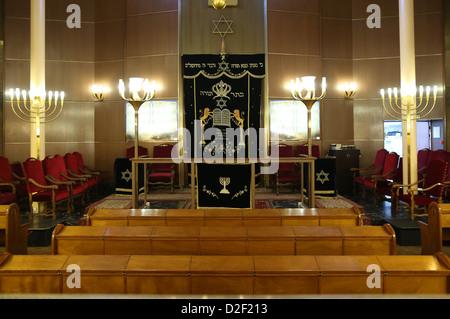 Don Isaac Abravanel synagogue Paris. France. - Stock Photo