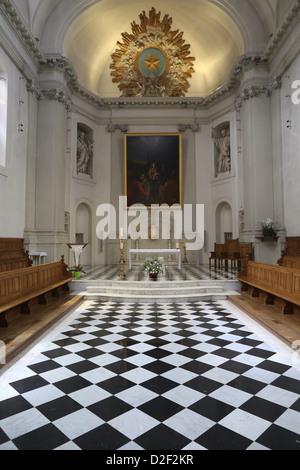 Paris Foreign Missions church Paris. France. - Stock Photo