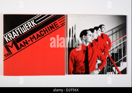 The Man-Machine (German Language Edition: Die Mensch-Maschine) is the seventh studio album by German electronic - Stock Photo