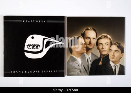 Trans-Europe Express, the sixth studio album by German electronic group Kraftwerk - Stock Photo