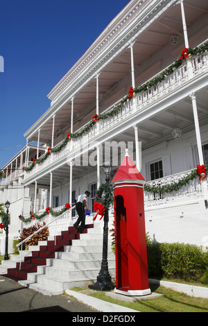 Government House, Charlotte Amalie, St. Thomas, US Virgin Islands, Caribbean - Stock Photo