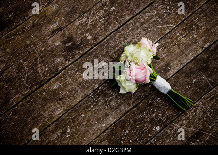 A bouquet of wedding flowers - Stock Photo