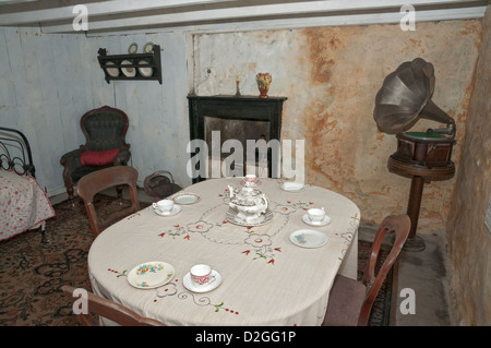 Scotland, Auchindrain Township Open Air Museum - Stock Photo