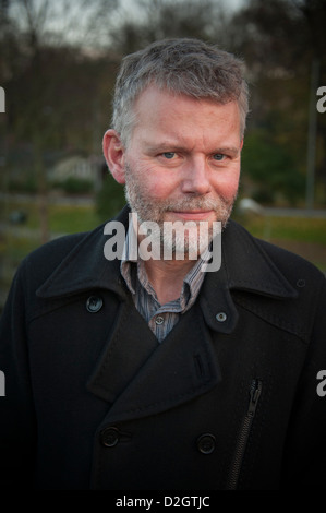 Jan Arnald born 1963  a Swedish novelist and literary critic, who uses the pen name Arne Dahl when writing crime - Stock Photo