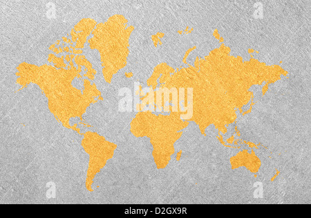 Abstract world map - Stock Photo