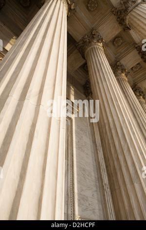 Columns of the Supreme Court - Stock Photo