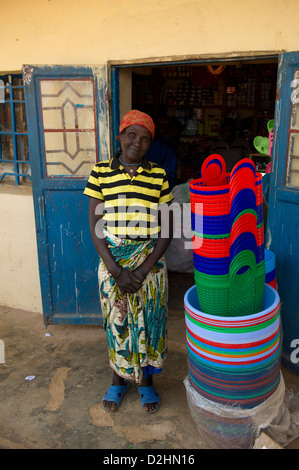 Shop, Ngororero, Rwanda - Stock Photo