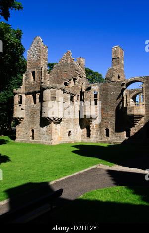 Earl's Palace, Kirkwall, Orkney isles - Stock Photo