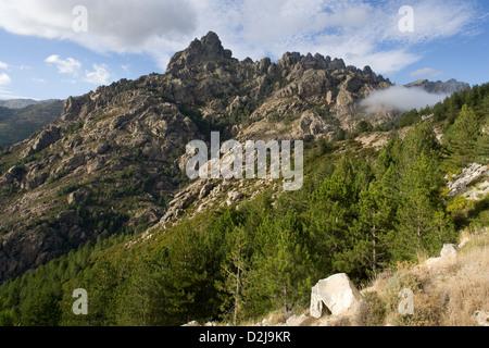 Corsica: Aiguilles de Bavella - Stock Photo