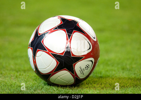Seville, Spain, the official Champions League ball - Stock Photo