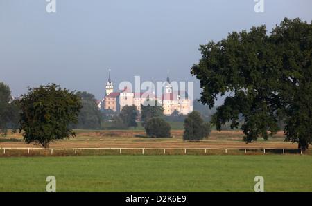 Torgau, Germany, Schloss Hartenfels - Stock Photo