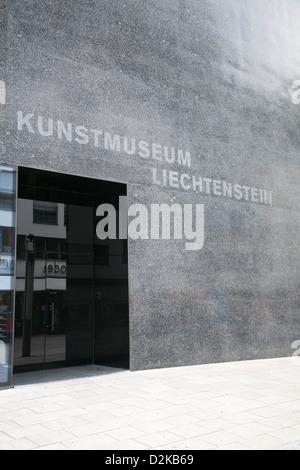 Vaduz, Liechtenstein Kunstmuseum Liechtenstein - Stock Photo