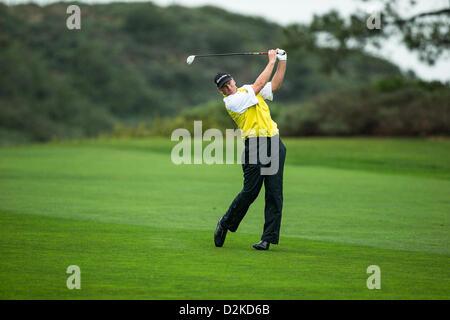 25.01.2013. La Jolla, California USA. Farmers Insurance Open at Torrey Pines Golf Course in La Jolla, CA