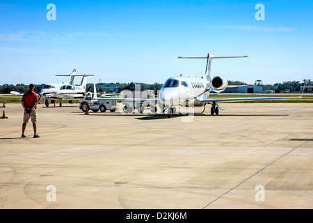 Cessna Citation Private Jet At Sarasota Airport In Florida Stock Photo Royal