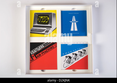 Kraftwerk The Catalogue box set - Stock Photo