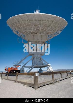 Radio Telescope, National Radio Astronomy Observatory, New Mexico - Stock Photo
