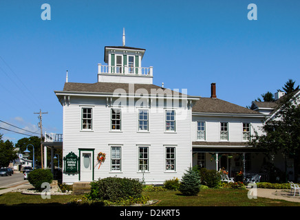 The Cupola House in the Door County town of Egg Harbor, Wisconsin - Stock Photo