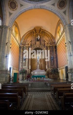 Templo de la Compañia de Jesús in Oaxaca - Mexico - Stock Photo