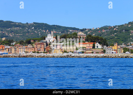 Picture of Santa Margherita Ligure in Italy - Stock Photo