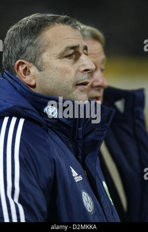 Klaus Allofs (Wolfsburg), NOVEMBER 28, 2012 - Football / Soccer : Bundesliga match between Borussia Monchengladbach - Stock Photo