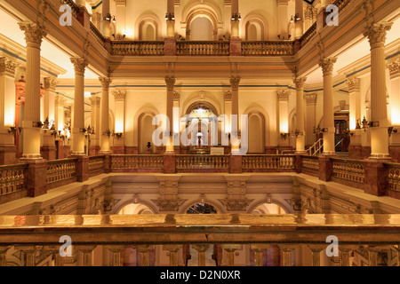 State Capitol Building, Denver, Colorado, United States of America, North America - Stock Photo