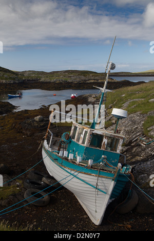 Isle of barra and vatersay outer hebrides scotland stock for Ocean isles fishing village
