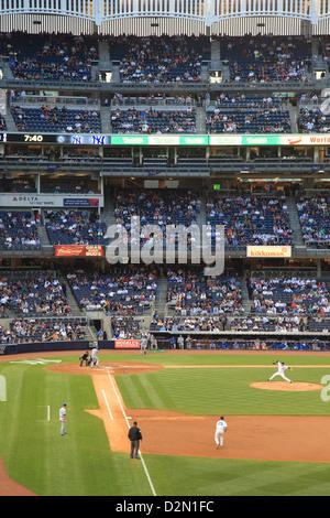 Baseball Game, Yankee Stadium, Bronx, New York City, United States of America, North America
