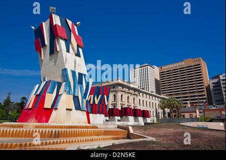 city centre of adelaide australia stock photo 73129215. Black Bedroom Furniture Sets. Home Design Ideas