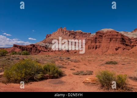 Capitol Reef, Utah, United States of America, North America - Stock Photo