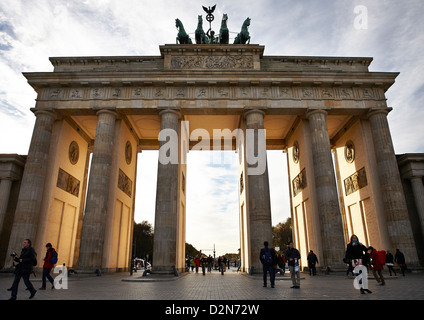 Brandenburg Gate, Berlin, Germany, Europe - Stock Photo