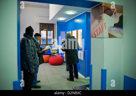 Italy, Marghera, Poliambulatorio of Emergency, Clinic of Emergency - Stock Photo