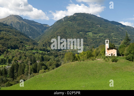Bagolino Lombardy Italy travel tourism - Stock Photo