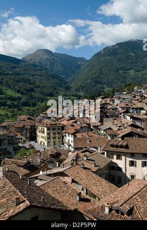 Bagolino Lombardy Italy travel tourism - Stock Photo