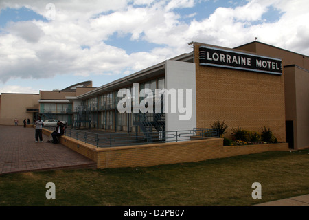 Lorraine Motel memorial National Civil Rights Museum Room 306 Martin Luther King Jr. was assassination site Memphis Tennessee