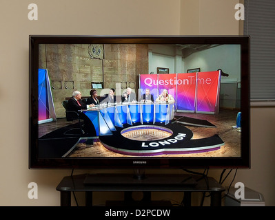 BBC Question Time programme in UK - Stock Photo
