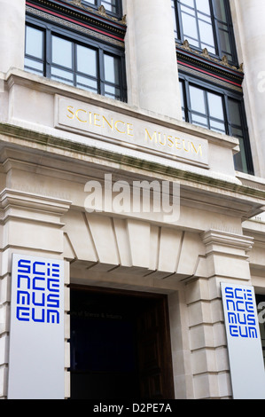 The Science Museum in Exhibition Road, South Kensington, London. - Stock Photo