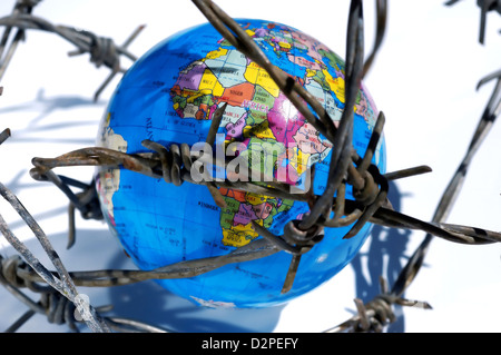 Globe earth - Stock Photo