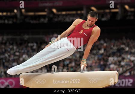 Krisztian Berki (HUN, Hungary). Individual Gymnastics - Stock Photo