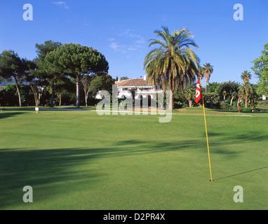 Rio Real Golf Course, Marbella, Costa del Sol, Malaga Province, Andalucia, Spain - Stock Photo