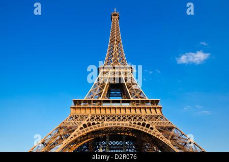 Eiffel Tower, Paris, France, Europe - Stock Photo