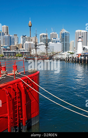 Darling Harbour, Sydney, New South Wales, Australia, Pacific - Stock Photo