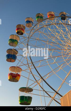 Ferris wheel, Luna Park, Sydney, New South Wales, Australia, Pacific - Stock Photo