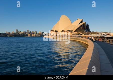 Opera House, UNESCO World Heritage Site, Sydney, New South Wales, Australia, Pacific - Stock Photo