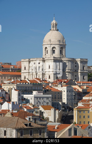 The National Pantheon (Igreja de Santa Engracia), Alfama District, Lisbon, Portugal, Europe - Stock Photo
