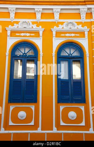 Colonial buildings in Carmo District right next to Pelourinho, Salvador (Salvador de Bahia), Bahia, Brazil, South - Stock Photo