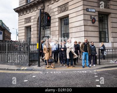 crossroad on princess street - Stock Photo