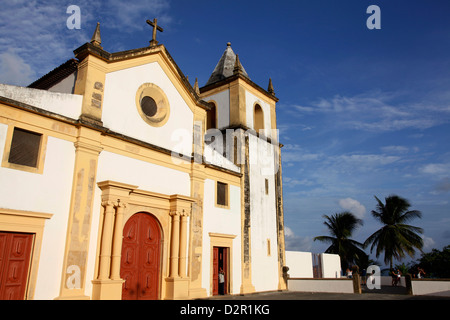 Igreja da Se (Se Cathedral), UNESCO World Heritage Site, Olinda, Pernambuco, Brazil, South America - Stock Photo