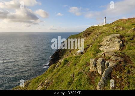 Mull of Galloway, Scotland's most southerly point, Rhins of Galloway, Dumfries and Galloway, Scotland, United Kingdom, - Stock Photo