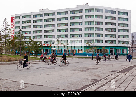 Wonsan City, East Sea of Korea, Democratic People's Republic of Korea (DPRK), North Korea, Asia - Stock Photo