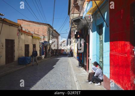 Witches' Market, La Paz, Bolivia, South America - Stock Photo